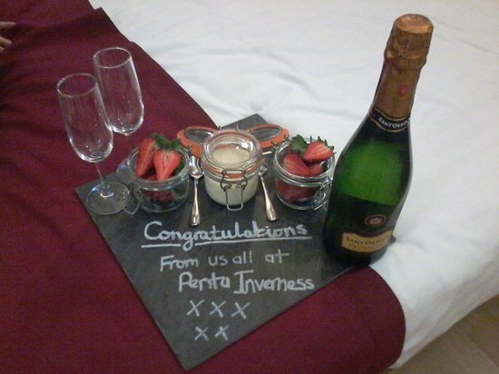 pentahotel Inverness: Nice touch