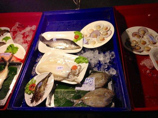 Pilot Bar: Fish seafood choose