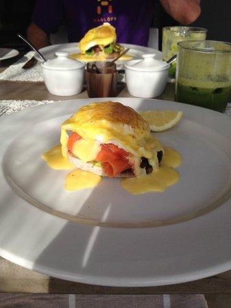 Kensington Place: Part of the breakfast