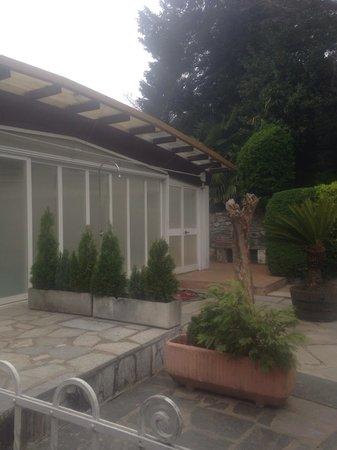 Park Hotel Rovio-Albergo del Parco: المسبح