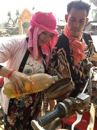 Cambodia Dirtbike Tours - Day Tours: LIZ gets his monies worth