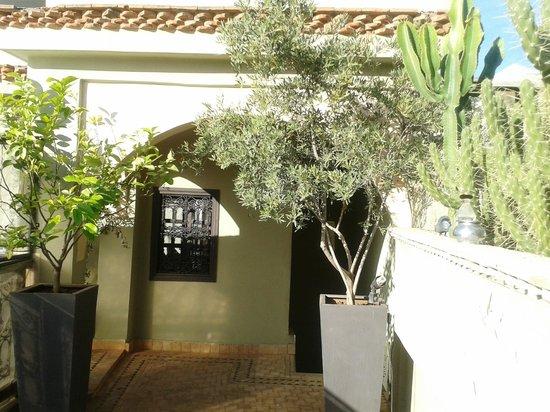 Riad Ambre et Epices : Entrée de la terrasse