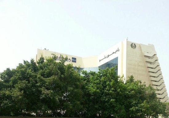 Radisson Blu Resort Sharjah : outside view of hotel
