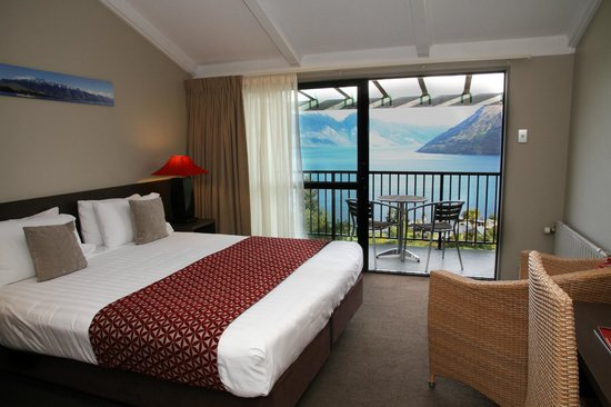 Aspen Hotel Queenstown: Lakeview room