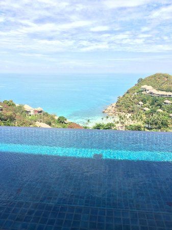Banyan Tree Samui : View from the bedroom