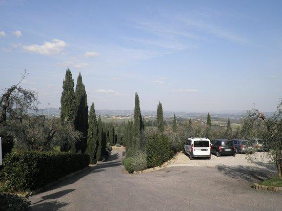 Villasanpaolo : vista delle colline circostanti