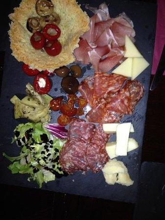 Bar Italia Brasserie : starters - antipasto