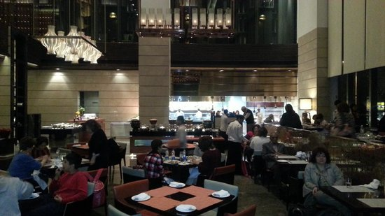 Crowne Plaza New Delhi Rohini : Restaurant