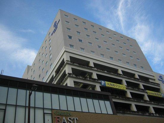 Daiwa Roynet Hotel Takamatsu : ホテルの外観