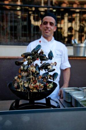 The Terrace Restaurant Malta at The Westin Dragonara Resort : Terrace Grill - Live cooking