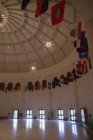 Founder's Hall at the Milton Hershey School: Gorgeous rotunda