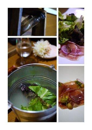 Cuisine De Garden: TERRARIUM | Mixed Salad w/ Jamon , Navel Orange Confit & Balsamic