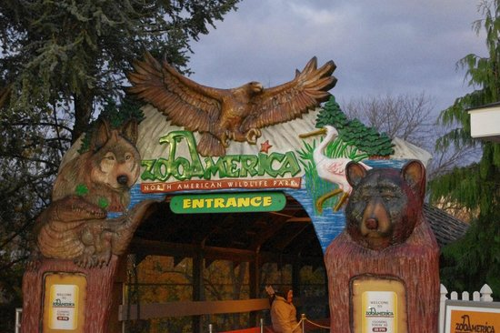 ZooAmerica North American Wildlife Park: Entry