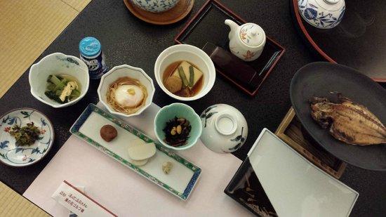 Hakone Yunohana Prince Hotel: Breakfast set