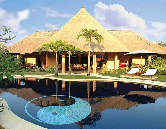 The Villas Bali Hotel & Spa: 3 Bedroom villa during the day