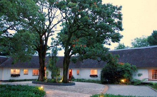 Seringa Lodge Entrance