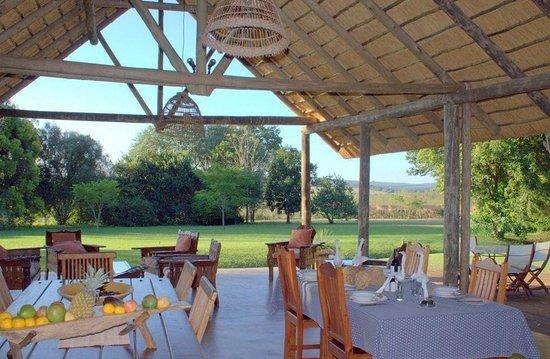 Seringa Lodge Deck