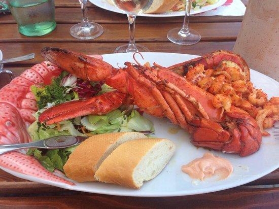GOSCH Atlantic Restaurant: Der ganze Hummer