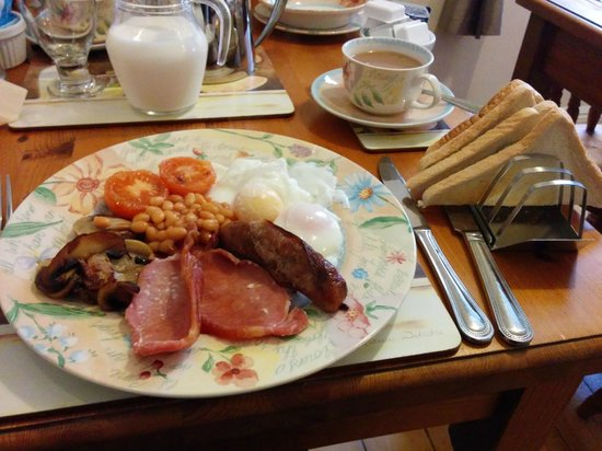 Victoria Bed and Breakfast: Breakfast!