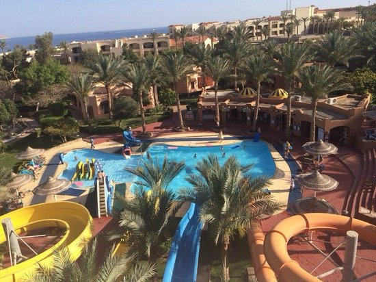 Nubian Island Hotel: Вид с горок