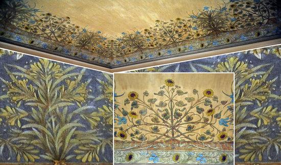 Palazzo Romagnoli Forlì le decorazioni liberty