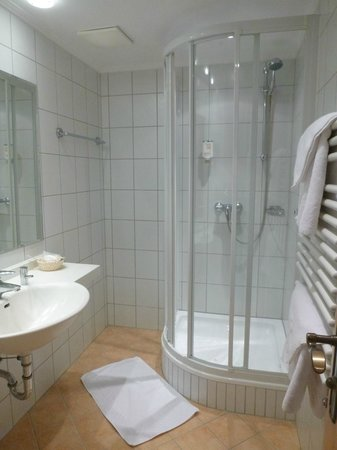 Hotel Tyrolerhof: Shower Room