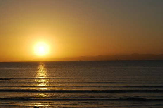 Dar El Maa: lever de soleil vu de la chambre