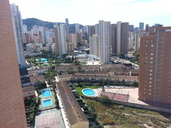 Playamar Apartments Click Benidorm : Room with a view from the 16th floor