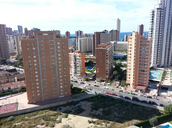Playamar Apartments Click Benidorm: Great views the higher you get