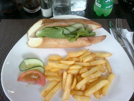 Da Luca: panino al tonno