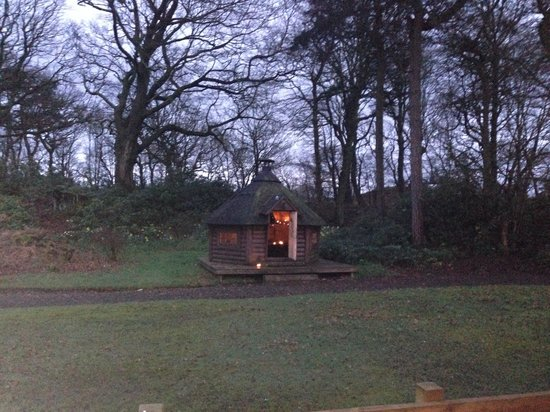 Antonine Wall Cottages: BBQ hut