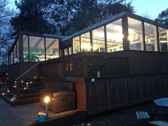 Antonine Wall Cottages: Pool area