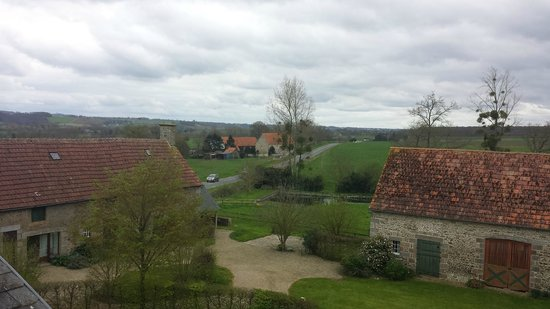 Les Blotteries: View from room