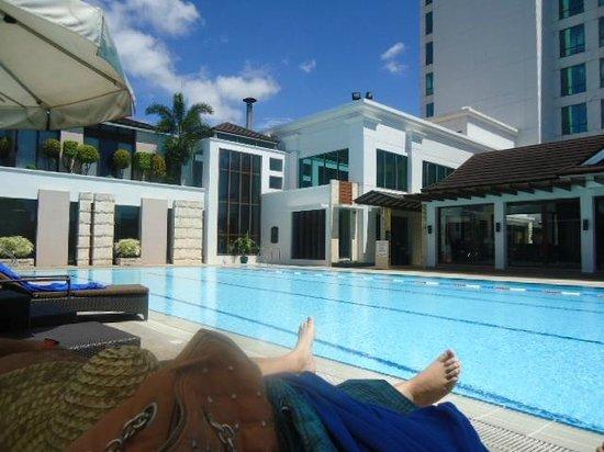 Marco Polo Davao : Lazing under the sun..