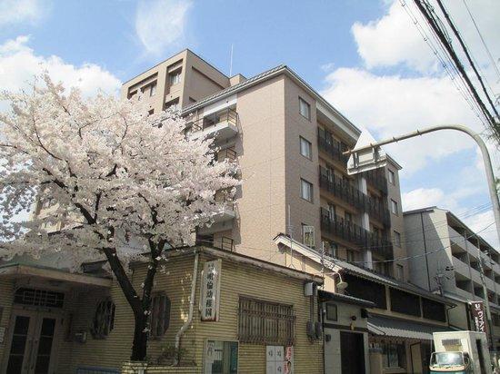 Via Inn Kyoto Shijo Muromachi : 今年も同じ日に満開!!!