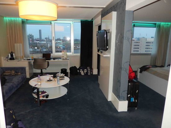 Holiday Inn Eindhoven: suite with a view