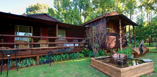 Kingfisher Chalet - Picture of Woodland Gardens, Magaliesburg ...