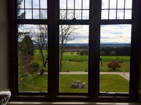 Kincraig Castle Hotel : View from our room