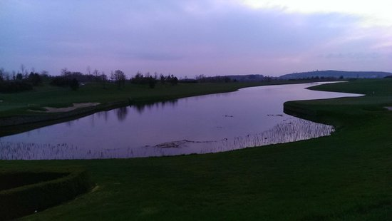 The Heritage Killenard: Lake on the course, seen from hotel rooms
