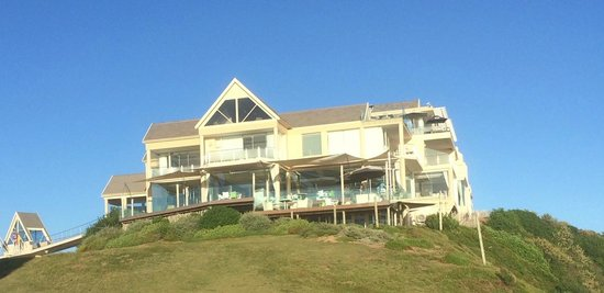 Views Boutique Hotel & Spa: The lovely hotel from the beach