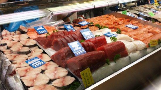 Queen Victoria Market: Fish