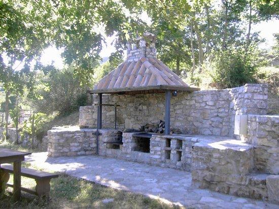 La Contea Degli Angeli : Area barbeque