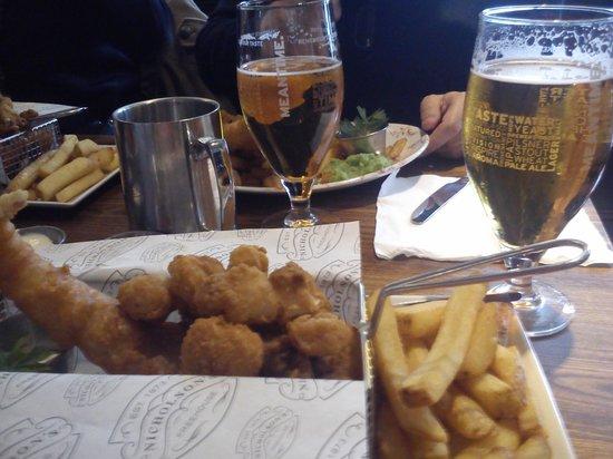 St. George's Tavern: Comida