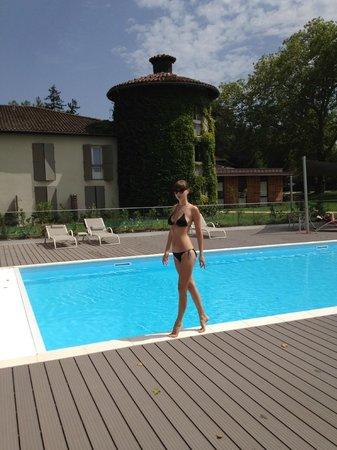 Saint-Galmier, ฝรั่งเศส: La piscine