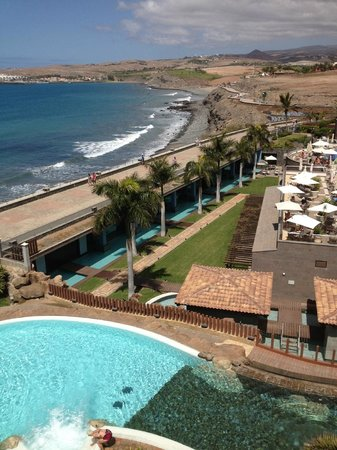 Lopesan Villa del Conde Resort & Corallium Thalasso: View on spa from junior suite 4155
