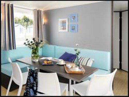 int rieur mobil home o 39 hara 2ch picture of camping le galier saint alban sur limagnole. Black Bedroom Furniture Sets. Home Design Ideas