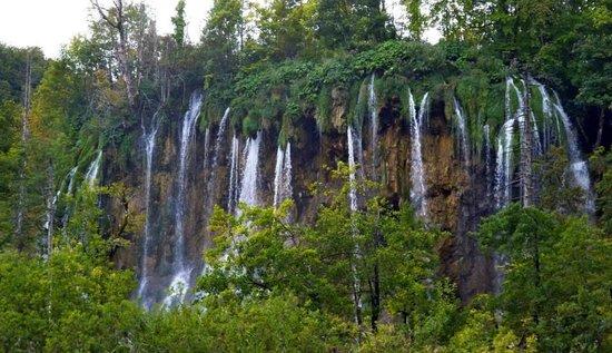 Plitvice Lakes National Park : Waterfalls of Plitvice