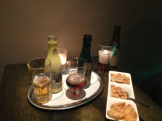 Martin's Brugge: Bar snack