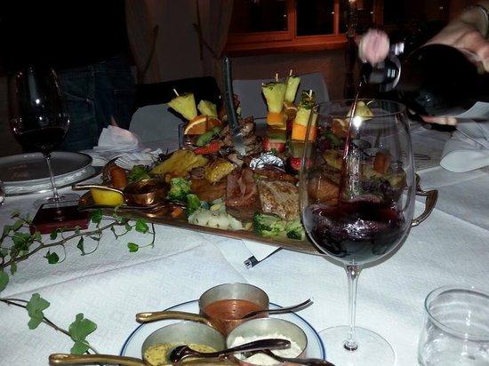 Armentarola Hotel: piatto armentarola