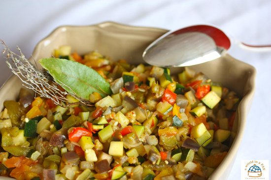 A world in a Pan Ratatouille